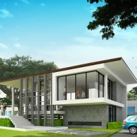 Moutain View Sales Office, Tung Song, Nakornsrithammarat