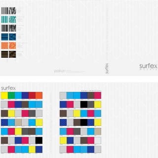 Surfex Mosaic Color Selection Catalog